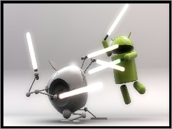 Apple, Android, Vs